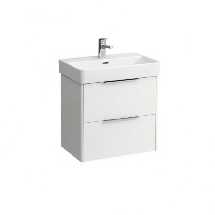 818959 - Laufen Pro S 600mm x 380mm Compact Washbasin & Base Vanity Unit - 8.1895.9